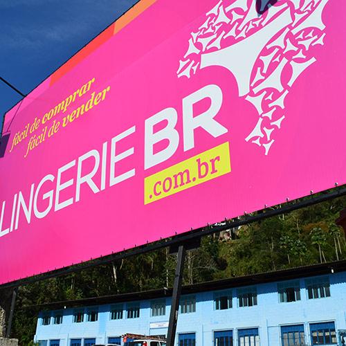 Fachada Sede Lingerie BR na Ponte da Saudade Nova Friburgo RJ